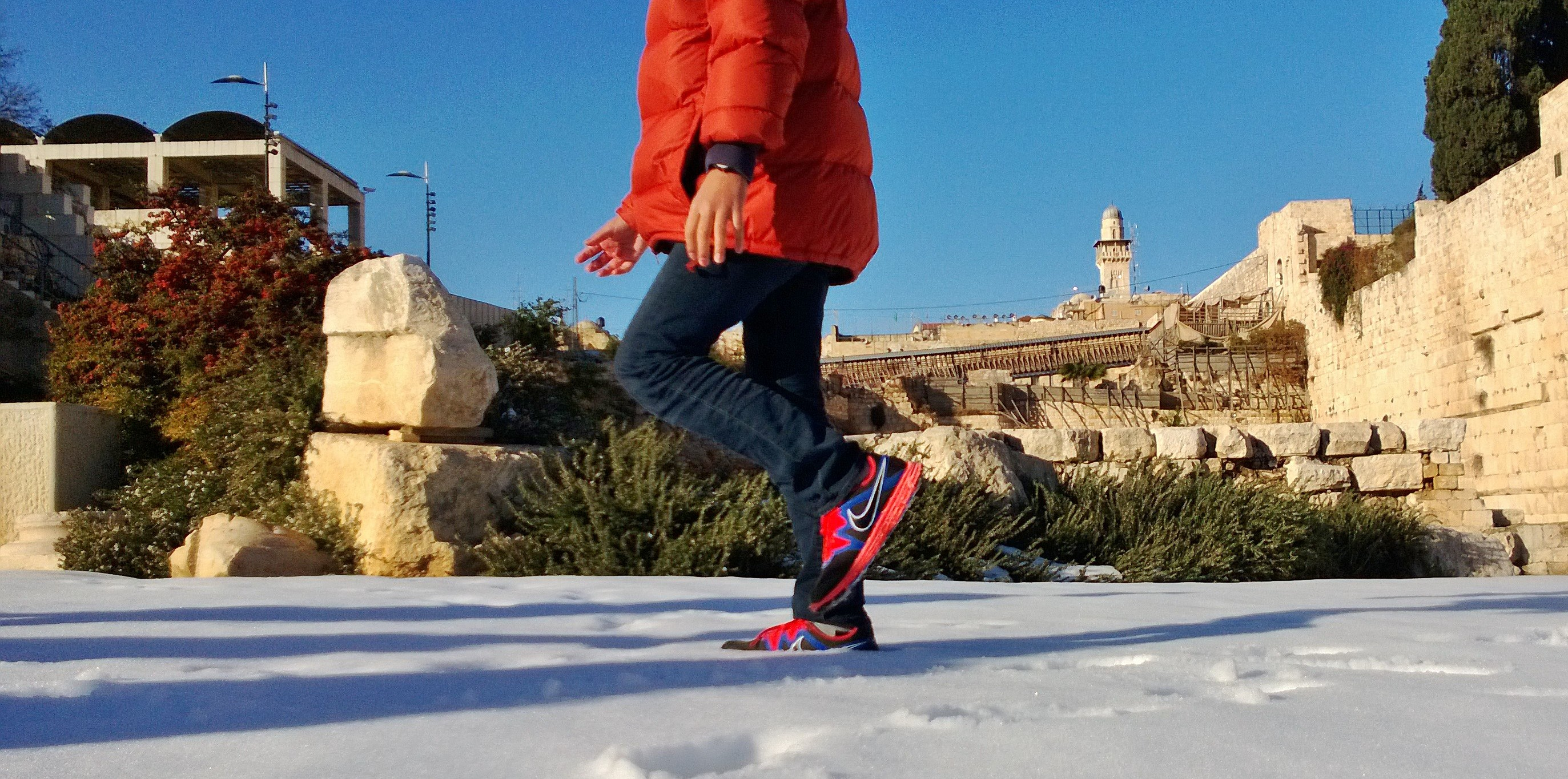 Jerusalem snowed under