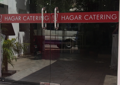 Successful Hagar catering service.