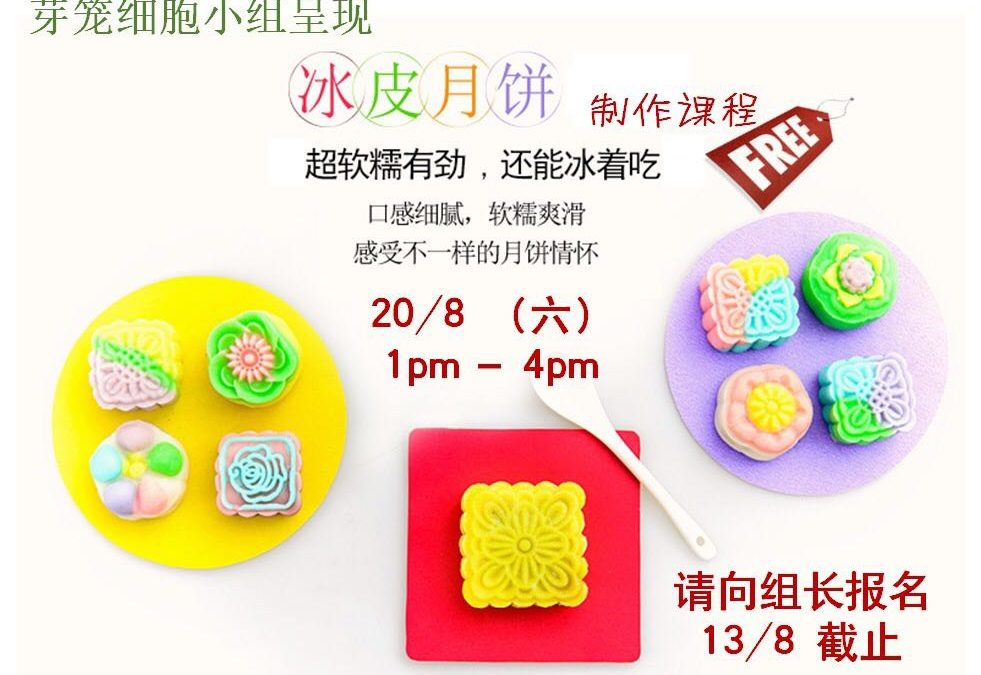 Ice Skin Moon Cake Making Class
