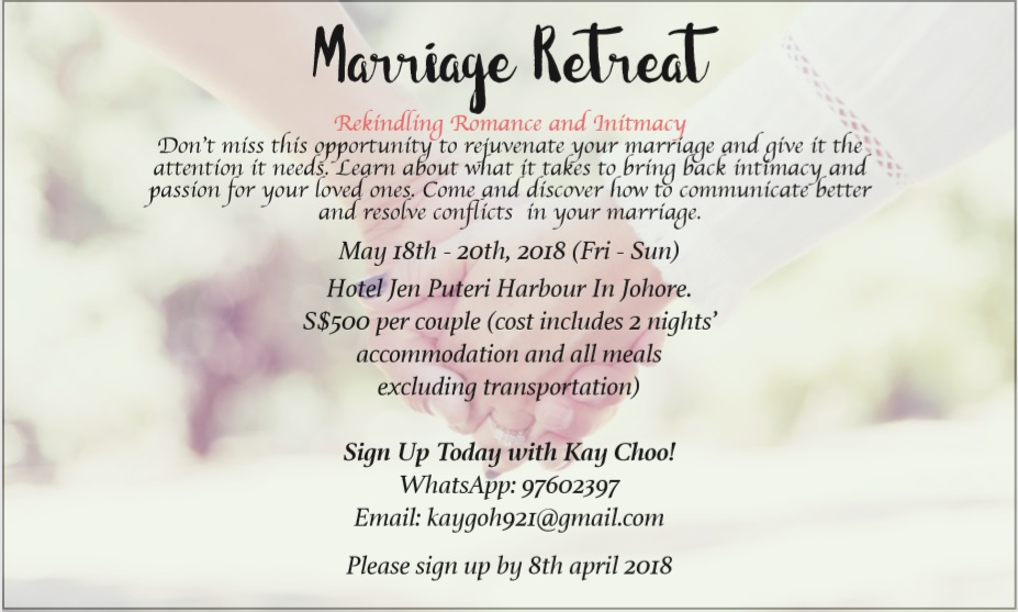Marriage Retreat 2018