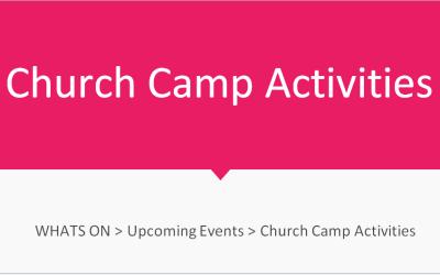 Church Camp Activities