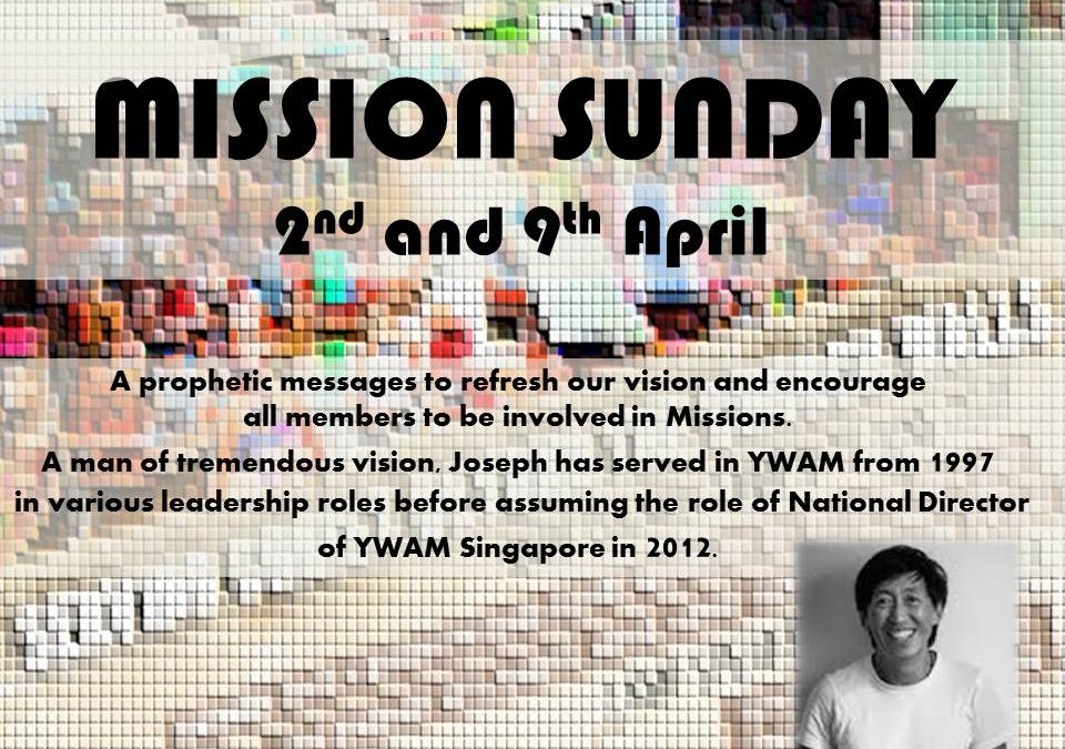 Mission Sunday – Prophetic Word for WRPF