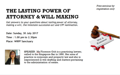 The Lasting Power of Attorney & Will Making