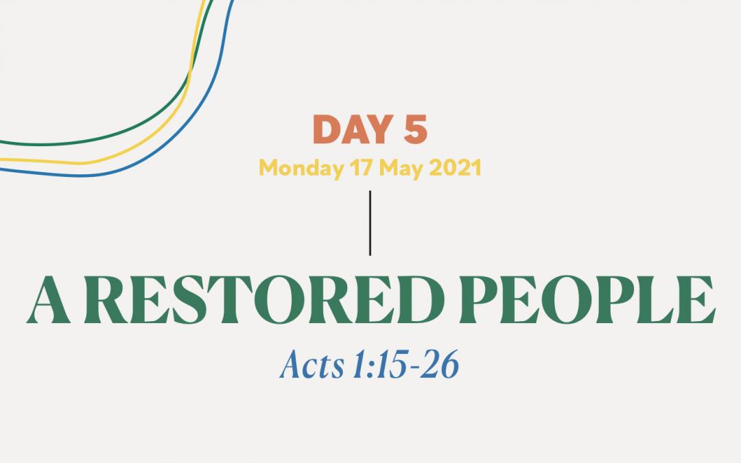 DAY 5 – 17 MAY