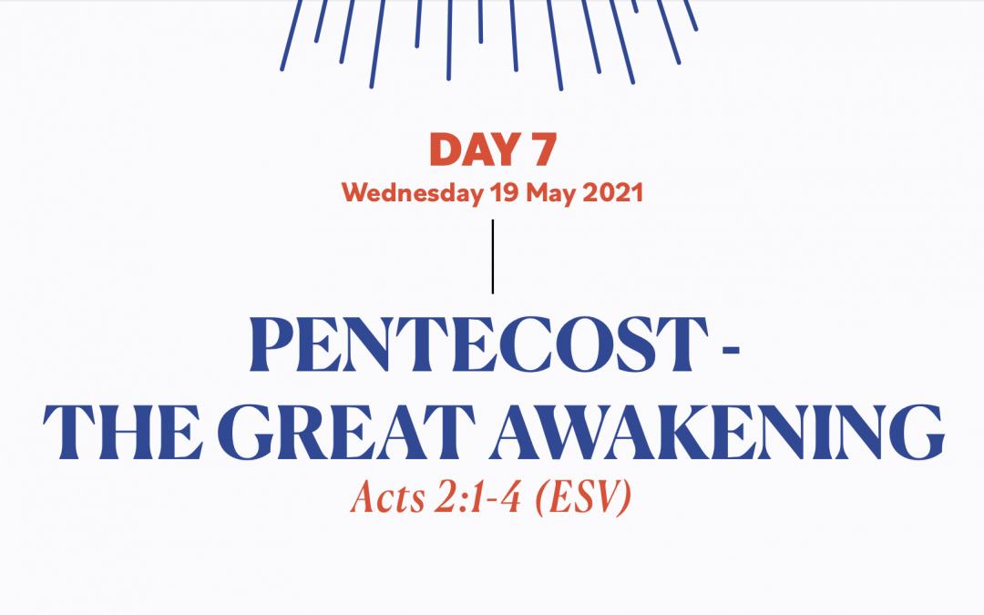 DAY 7 – 19 MAY